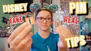 Disney Pin Trading Tips!! How To Tell When A Pin Is Fake