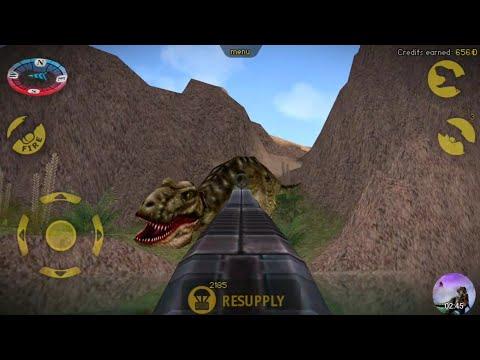 Carnivores Dinosaur Hunter   T-Rex and Gigantoraptor Hunting