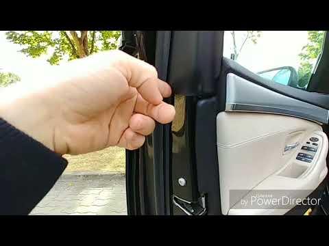BMW undichte Türen Feuchtigkeit im Fußraum erkennen und lokalisieren