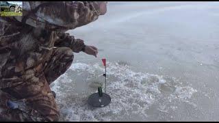 Зимняя рыбалка на реке сосьва