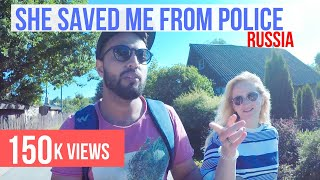Russian Police can't digest an Indian backpacker - Pskov - Couchsurfing - Russia Travel Vlog 4