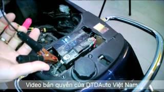 Video Thiết bị xác định lỗi xe máy phun xăng điện tử