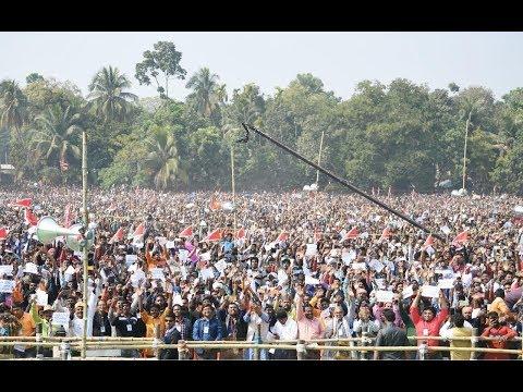 PM Shri Narendra Modi addresses public meeting in Thakurnagar, West Bengal