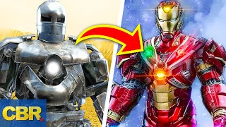 The Full Evolution Of Iron Man Suits