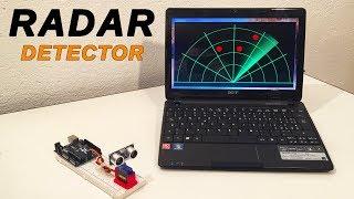 how to make a radar using arduino uno and processing - मुफ्त