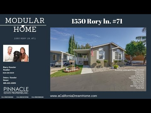 Simi Valley Modular Home For Sale 1550 Rory Lane #71