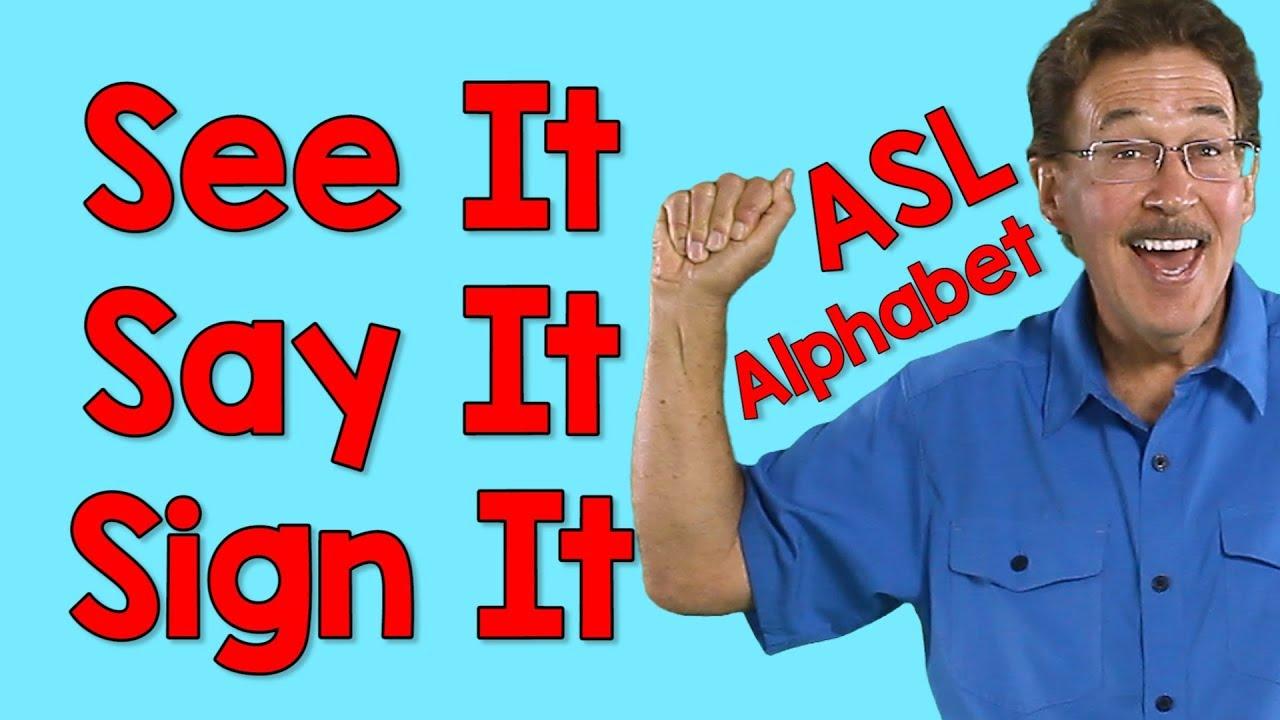 sign language alphabet video