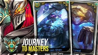 MASTER TIER GAMES !! - Journey To Masters #23 S7 - League of Legends
