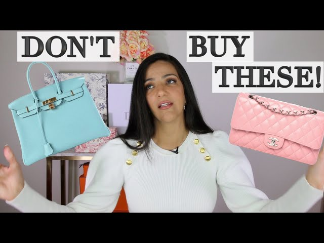 5 Bags I'm Never Buying Again! Hermes, Chanel & Louis Vuitton | Ericas Girly World
