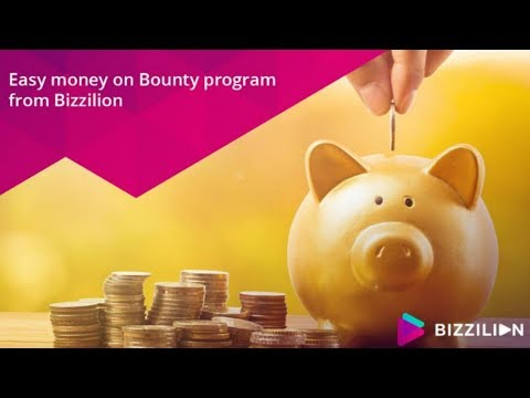 Bizzilion.com отзывы 2019, обзор, mmgp, Bounty program как выполнять задания