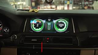 Độ Màn Hình Android BMW 520i - Lắp Zin Nguyên Bản | Ô TÔ NGỌC HÀ