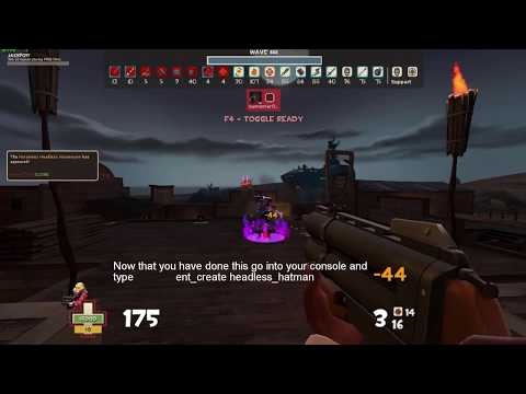 Source Developer Console Tutorial 4: Spawning bosses in TF2