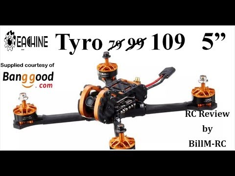 Eachine Tyro109 review – Full Build & assembly step-by-step guide