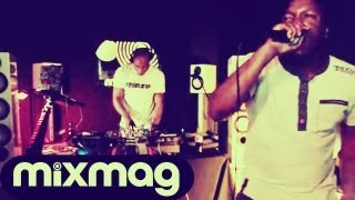 Marcus Nasty, T.Williams and Monki - Live @ Mixmag Lab LDN 2012