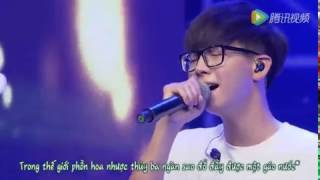 [Vietsub] 放下 Buông xuống - Hồ Hạ (LIVE   Concert 20150815)
