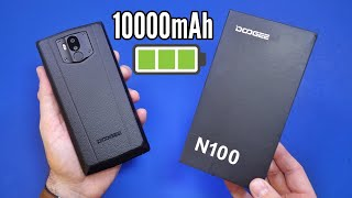 Doogee N100 Smartphone - Hands On - 10000mAh, NFC
