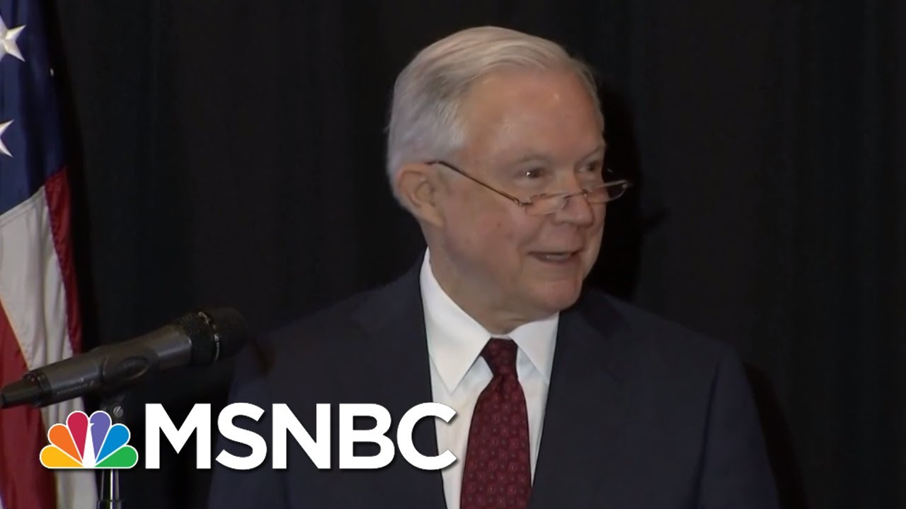 Sessions & Sanders Invoke Bible Defending President Trump's Migrant Policy | The 11th Hour | MSNBC thumbnail