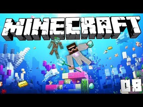 ZÁKLADNA V POTOPENÉM VRAKU | Minecraft Lovec Pokladů #08