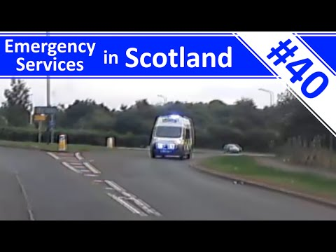 Emergency Services in Scotland - Ep.40 - Police, Fire & Ambulance Compilation