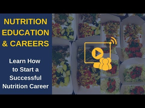 How to Start a Successful Nutrition Career - YouTube