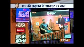 25 Years Of Aap Ki Adalat: Here's Your Chance To Take 'the Stand' Is Rajat Sharma's Court