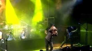 Angra - Silence and Distance - Fabio Lione como Vocalista - Uberlândia 03/08/13
