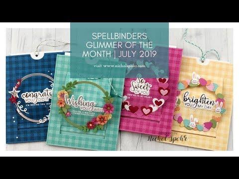 Download Spellbinders April 2019 Large Die Glimmer Hot Foil Kit Of