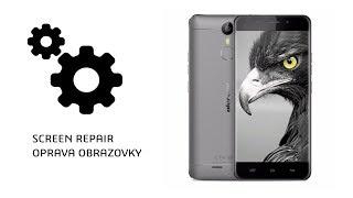 ulefone metal LCD and touch screen (digitalizer) repair/ oprava česky