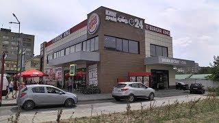 Торжественное открытие ресторана Burger King в Могилеве