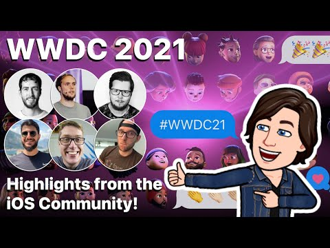 So what got the iOS community excited at WWDC 2021? thumbnail
