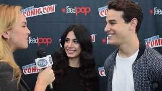 Alberto Rosende and Emeraude Toubia 'Shadowhunters' Interview
