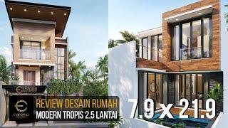 Video Mrs. Dian Modern House 2.5 Floors Design - Bandung, Jawa Barat