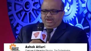 Make In India Awards 2017: Zen Technologies CMD, Ashok Atluri's Views