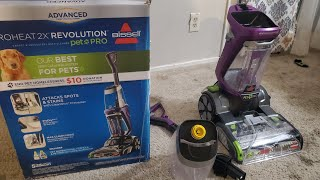 How to: Use a Bissell ProHeat 2x Revolution Pet Pro Carpet Cleaner