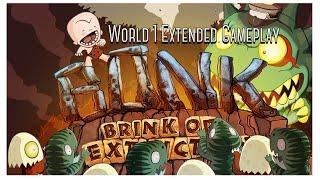 Bonk: Brink Of Extinction : World 1 Extended Gameplay