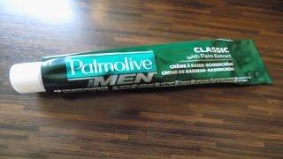 Rasur - Pur ! Rasiercreme Palmolive Shave cream Test Vorstellung Review Nassrasur