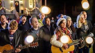 Silent Night - Surprise Christmas Caroling! #ASaviorIsBorn | Gardiner Sisters