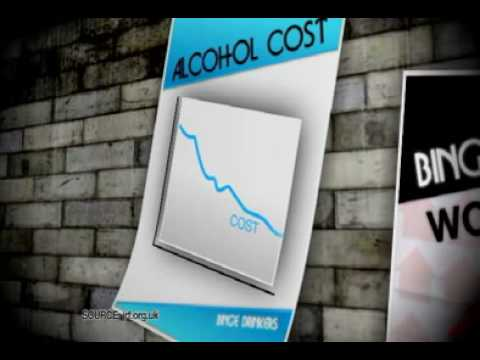 cost of alcohol to the NHS 2.7 billion pounds per year - Sky News report