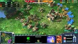 ZvT Bly Vs Polt Taldarin G1 Starcraft 2 HD Polski Komentarz
