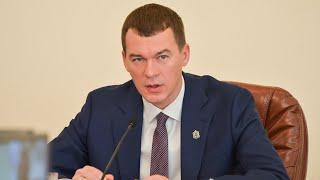 Интервью с врио губернатора Хабаровского края Михаилом ...