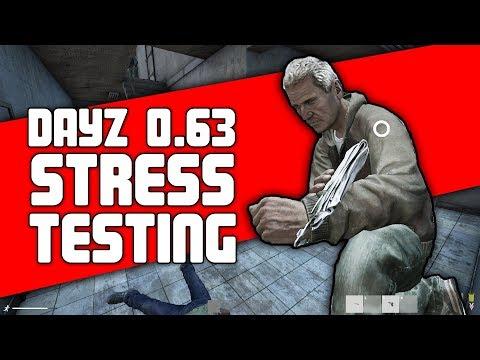 DayZ 0.63 Stress Test Server Footage