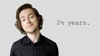 Ftm: 2 1/2 Years / 2.5 Years / 2½ Years. On T.