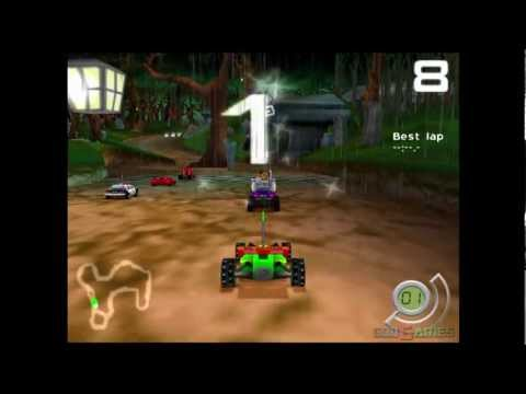 RC Toy Machines Playstation 2
