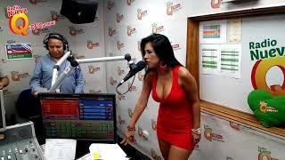 ¡Katy Jara nos presentó su canción 'Déjenme sufrir' en 'Qumbias y Risas'!