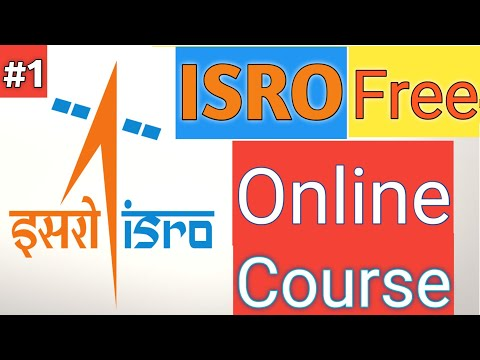 ISRO Free Online certification course   Remote sensing and GIS ...