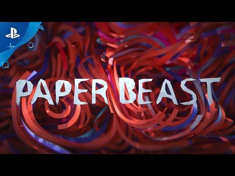 Paper Beast | Release Date Trailer | PS VR de Paper Beast