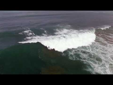 Bullies drone footage of surfers
