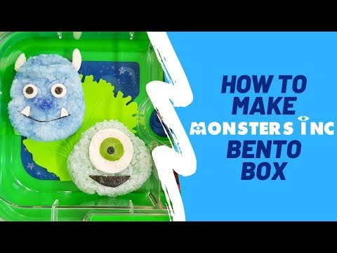 HOW TO MAKE MONSTERS INC BENTO & Keira's Karaage