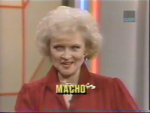 Super Password NBC Daytime 1986 #1