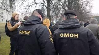 Задержания на Дне Воли в Минске